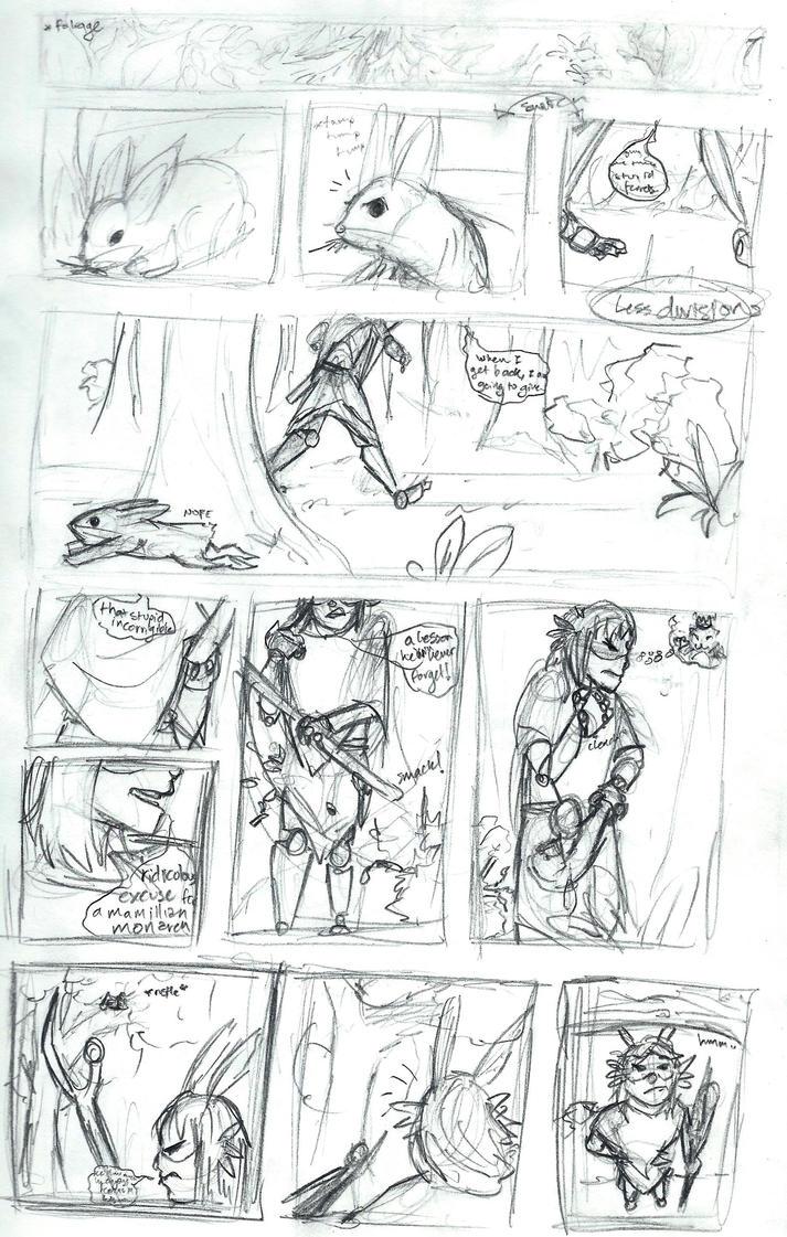 Comic Practice--OG Reboot, p1/? by Kalyn-Palak