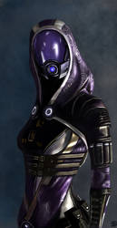 Tali'Zorah - Mass Effect by TheSig86