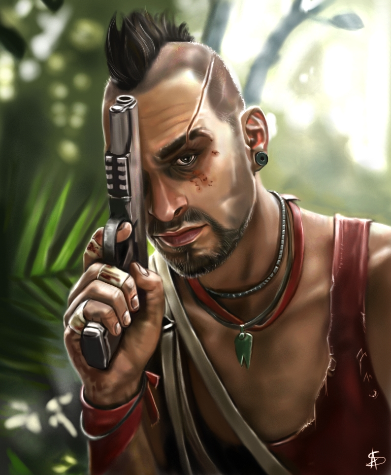 Vaas Montenegro - Far Cry 3 by TheSig86 on DeviantArt