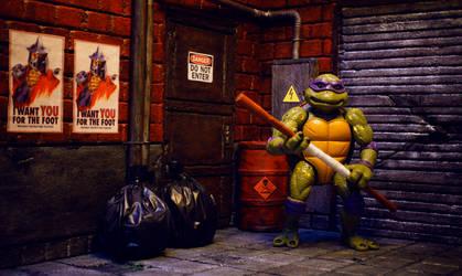 TMNT Donatello Movie Stars Figure Street Diorama by ivanivanov9207