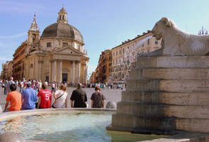 Piazza del Popolo by Nataskus