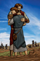 Jacob and Esau: The Return by eikonik