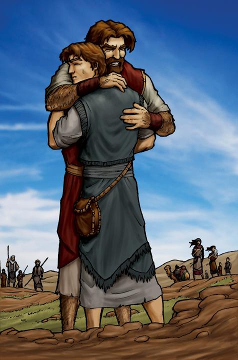 Jacob And Esau The Return By Eikonik On Deviantart