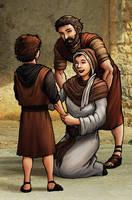 The Boy Jesus by eikonik