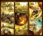 Bible Stories Comic Strips - Genesis 6-7 Noah p1-3