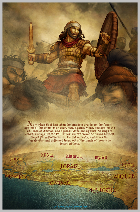 The David Story: Page 1 Sneak Peek by eikonik