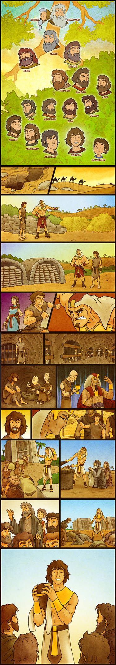 Joseph's Story Comic by eikonik