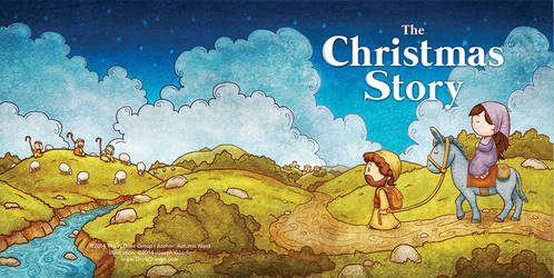 The Christmas Story Book - Full Cover by eikonik