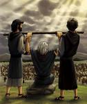 Moses and the Amalekites