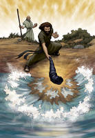 Elijah and Elisha by eikonik