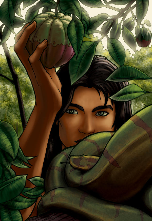 Monthly artist feature eikonik by christians on deviantart for Adan y eva en el jardin de eden
