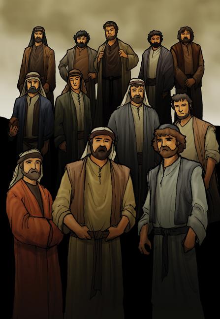 jesus chooses the twelve by eikonik