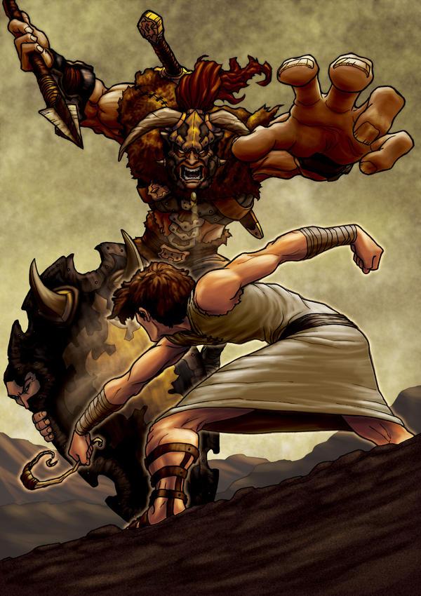 Goliath by eikonik