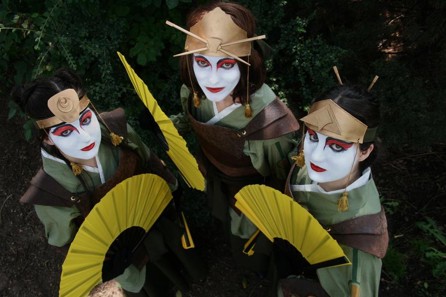Kyoshi Warriors :: Brave Blood by ekormekolindo