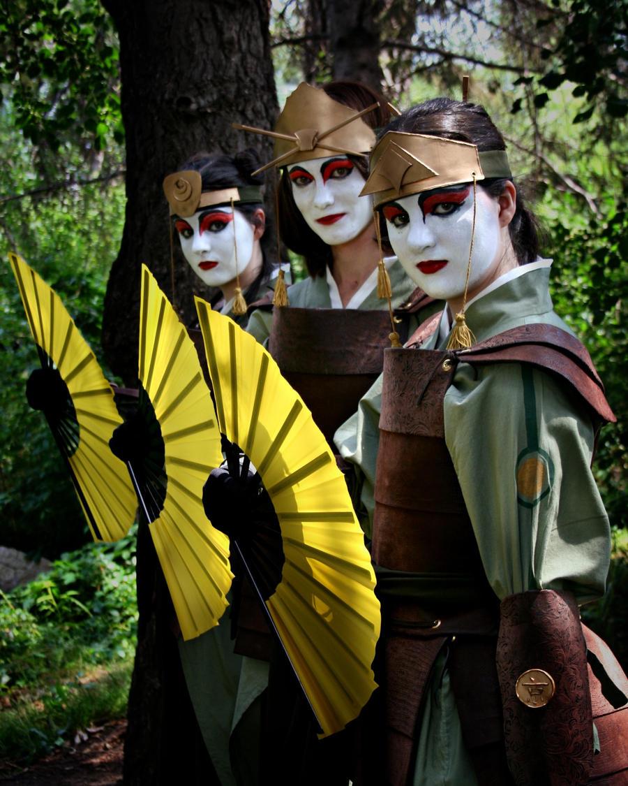 The Last Airbender Avatar Kyoshi: Kyoshi Warriors :: Warrior's Heart By Ekormekolindo On