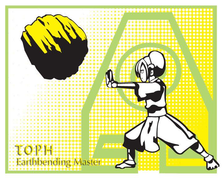 Pop art series: Toph by ekormekolindo