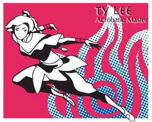Pop art series: Ty Lee by ekormekolindo