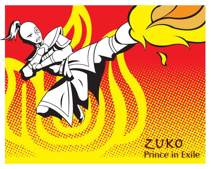 Pop art series: Zuko by ekormekolindo