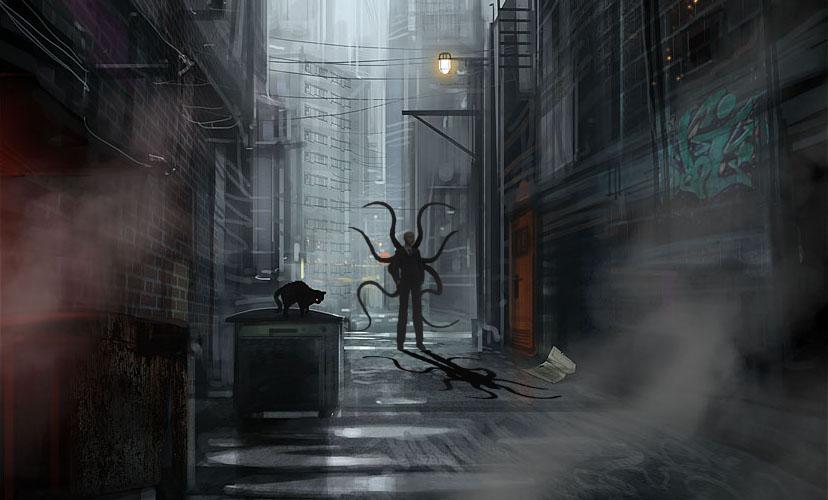 Slender Alley by confusedgorilla