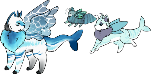 [Mothcats] Shark Bait Trio