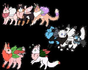 [Mothcats] [PC] Triple Threat