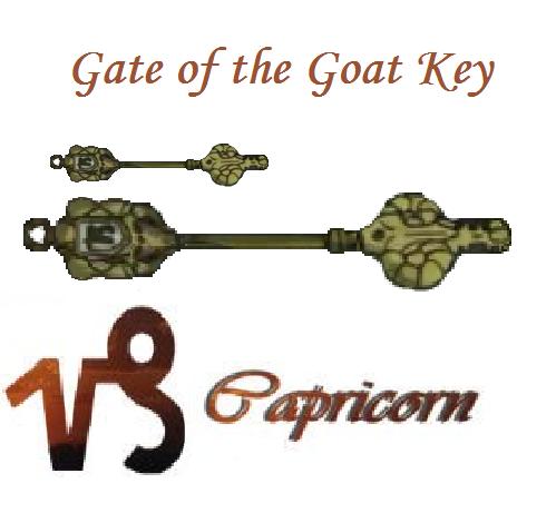 Capricorn Fairy Tail Key