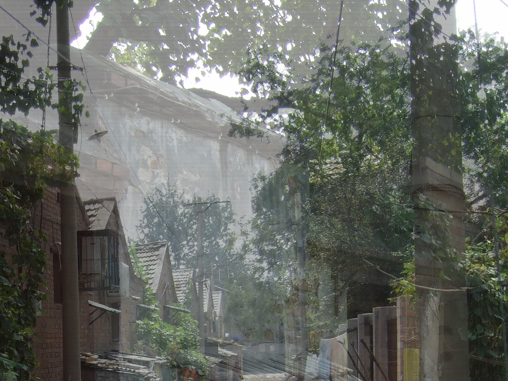 Just an ordinary hutong street by marjoleink