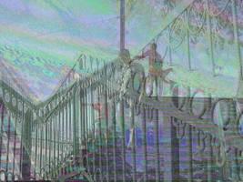 The footbridge by marjoleink