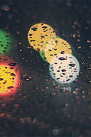 Raindrops Bokeh Wallpaper by leandroprz