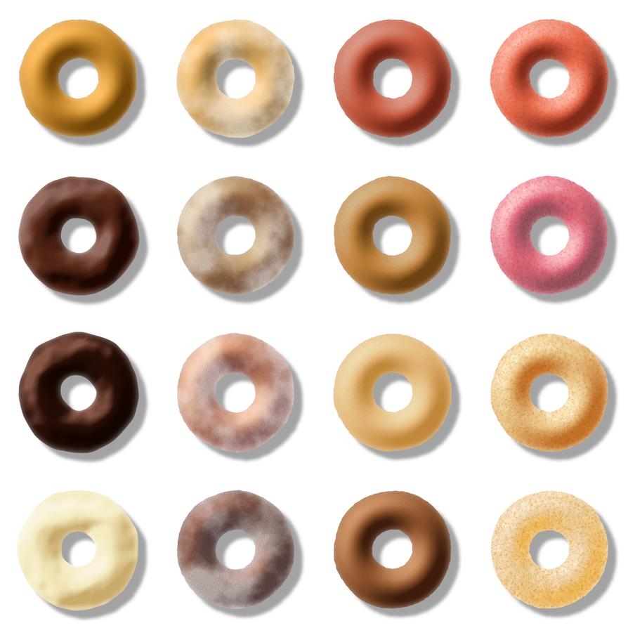 donuts by LazurURH