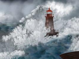 lighthouse by LazurURH