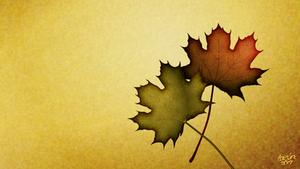 leaf wallpaper by LazurURH