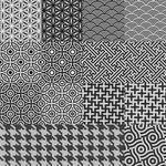 greyscale patterns