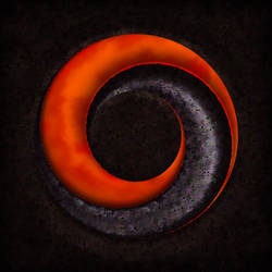 ring of lava and metal