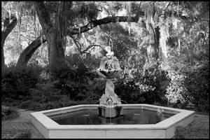 Rosedown Angel Fountain by SalemCat