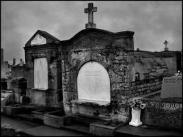 Greenwood Cemetery Tombs by SalemCat