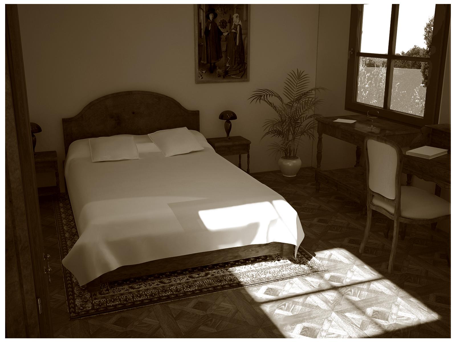 chambre ancienne by exodart on deviantart. Black Bedroom Furniture Sets. Home Design Ideas