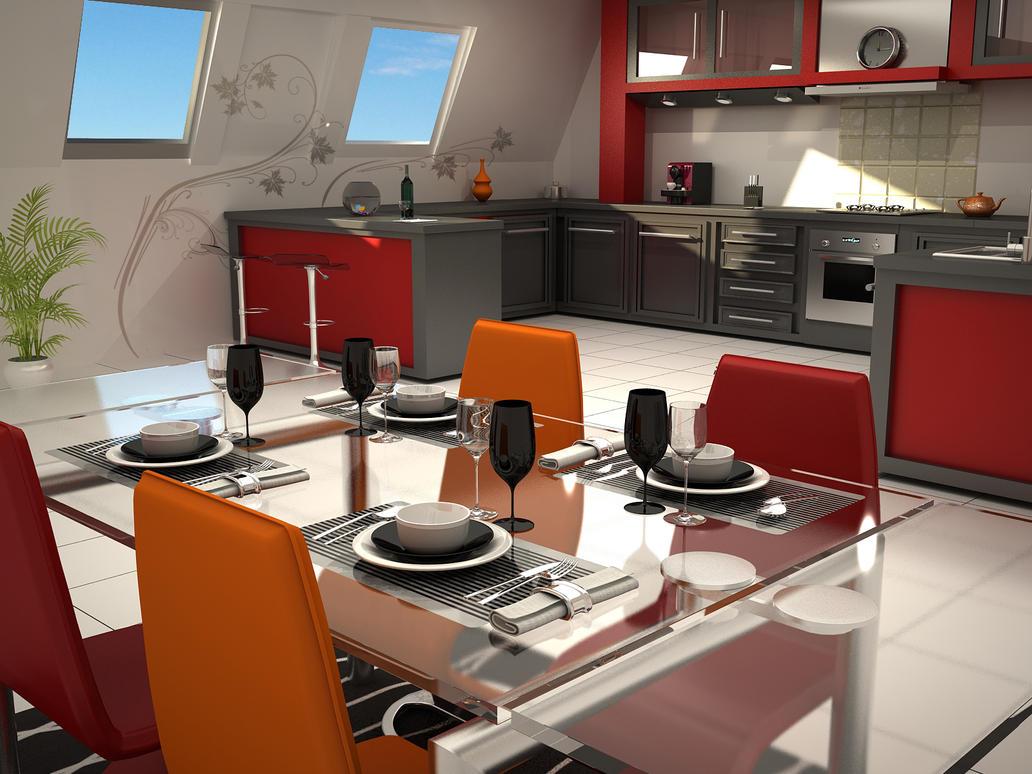 Cuisine design by exodart on deviantart for Design cuisine login