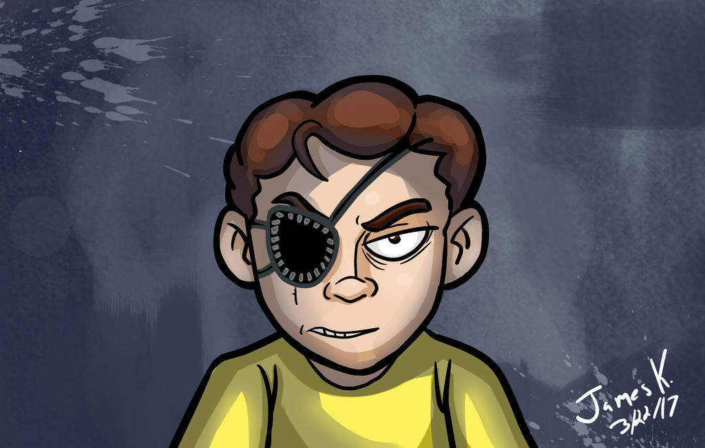 Evil Morty by killer-kay-james