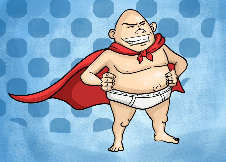 Captain Underpants by killer-kay-james