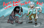 Rick and Jackie! APRIL FOOLS!!