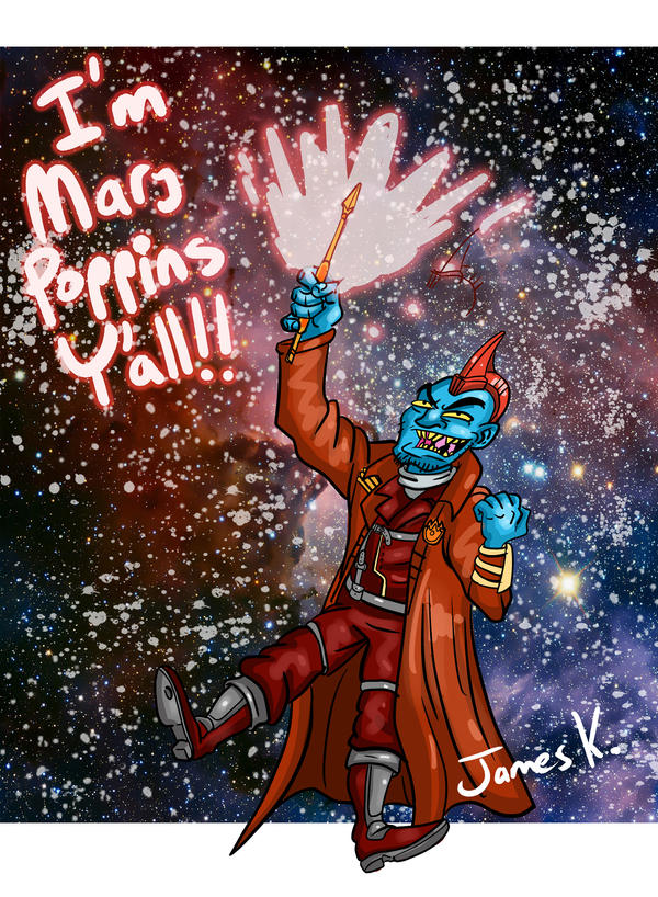 Guardians of the Galaxy- Mary Poppins by killer-kay-james