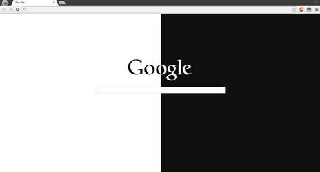 Minimal Google Page Theme