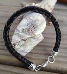 Braided Horsehair Bracelet - Black Custom