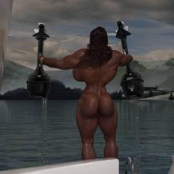 Julia LaPorte Boat Motors 01 02 by twitch99
