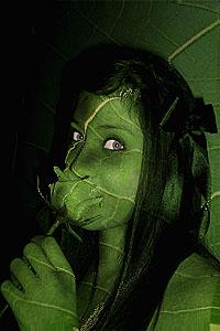 Leaf Girl by Medrett