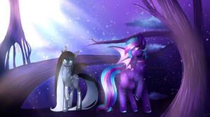 Commission-Bat ponnies