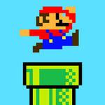 Super Mario in the Pipe (Pixel)