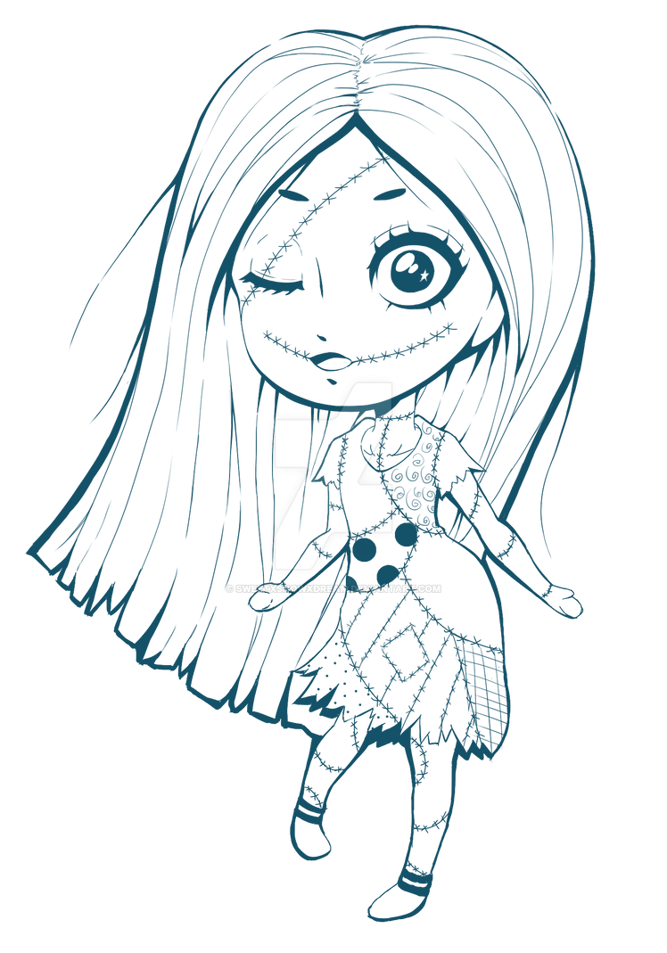 Nightmare Before Christmas : Chibi Sally by SweetxSnowxDream on ...