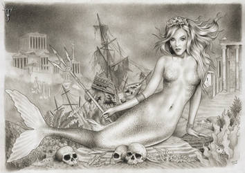 SIRENIA - GODDESS OF THE SEVEN SEAS by jairolago